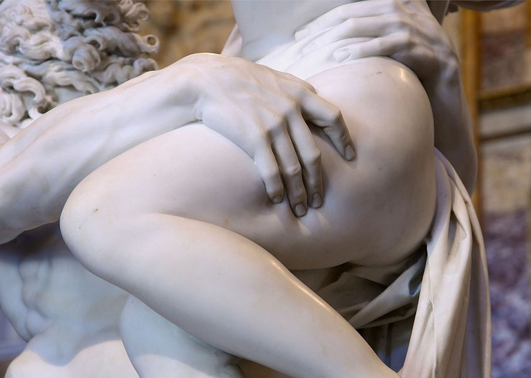 Detail of The Rape of Proserpina by Bernini | © Alvesgaspar/Wikicommons