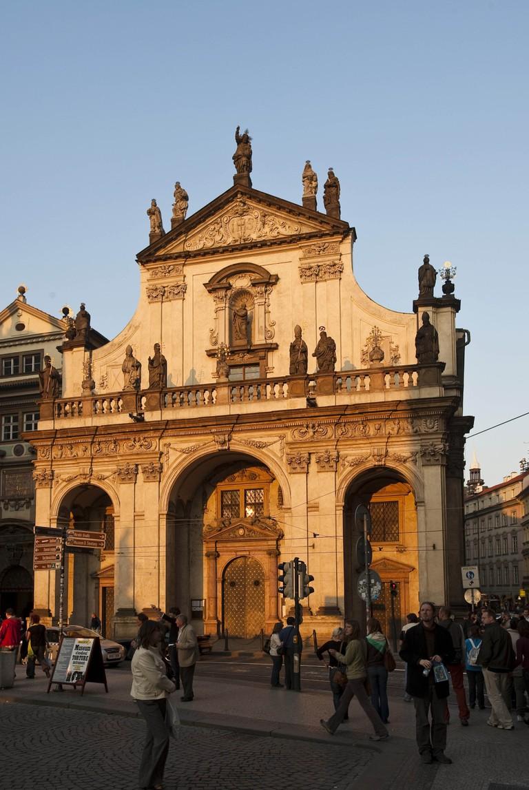 Clementinum, Prague, Czech Republic