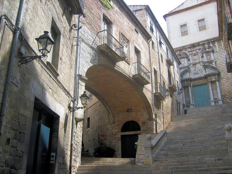 Sant Domènec stairs Girona | ©Racons gironins / Flickr
