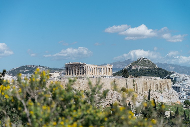 AREOPAGUS HILL-ATHENS-GREECE
