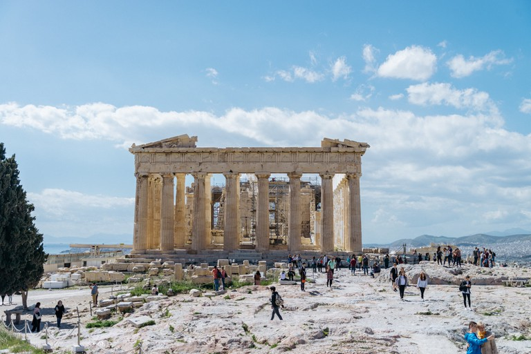 PARTHENON-ATHENS-GREECE