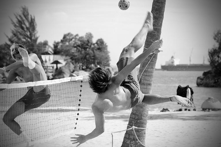Beach sepaktakraw | © Sepaktakraw Group / Flickr