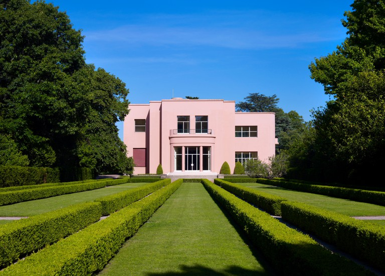 Serralves Villa side parterre © Serralves Museum of Contemporary Art