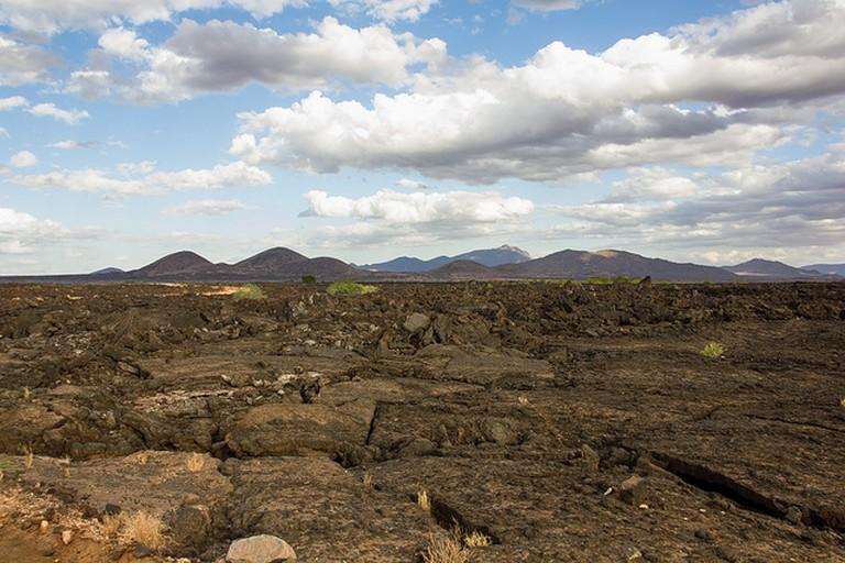 Shetani Lava, overlooking Chyulu Hills | © Laika Ac / Flickr