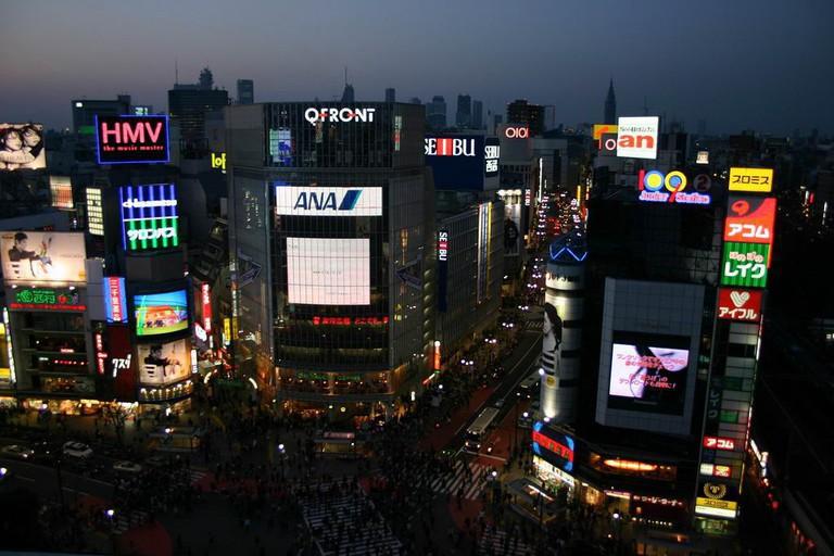 Shibuya at night | © Jonte/WikiCommons