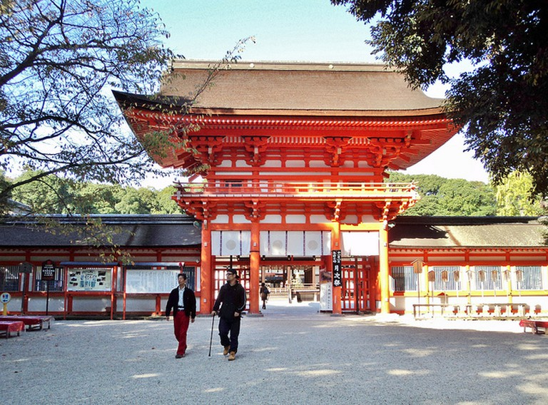 Shimogamo Shrine Gate