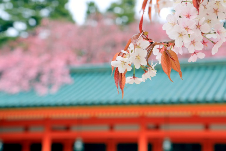 Heian Jingu Shrine in Kyoto