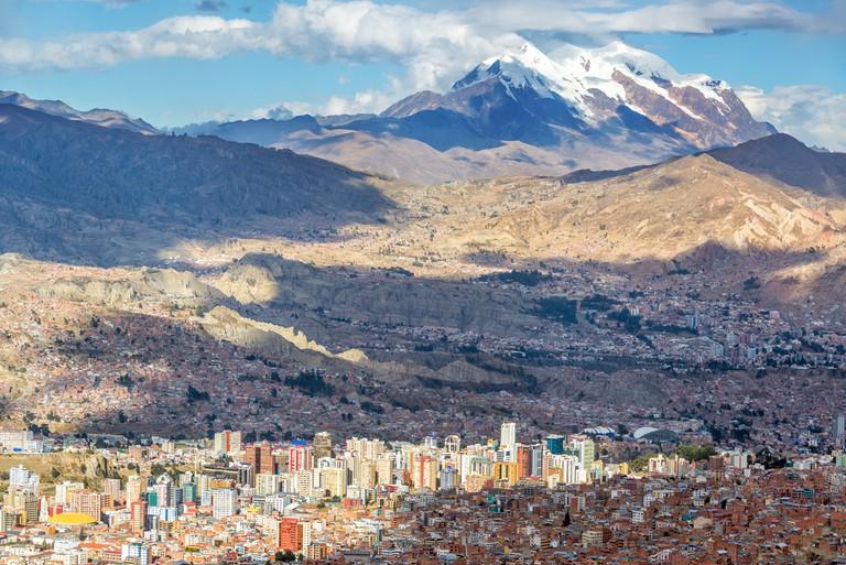 La Paz is a city in the clouds  © Jess Kraft/Shutterstock