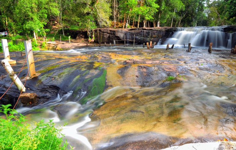 Kulen Mountain's waterfalls are great to cool down at