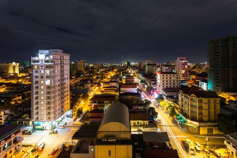 Phnom Penh comes to life at night   © Khlungcenter/ Shutterstock.com
