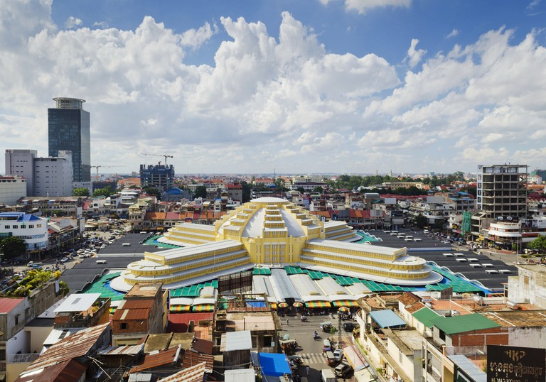 A bird's eye view of Phnom Penh's Central Market   © JM Travel Photography/ Shutterstock.com