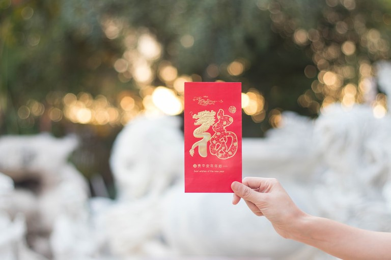 Red Envelope on Chinese New Year
