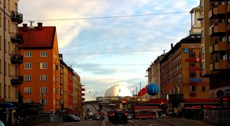 View towards Globen from Skanstull   ©Henning Klokkeråsen/Flickr