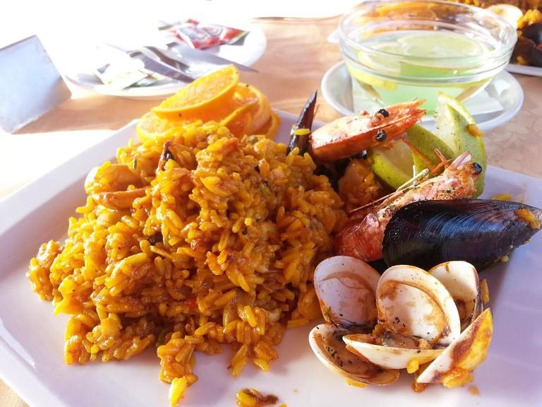 Spanish food | ©pearlis / Pixabay