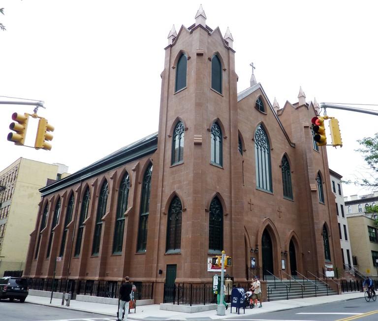 St. Brigid's Roman Catholic Church in Manhattan, Courtesy of Wiki Images