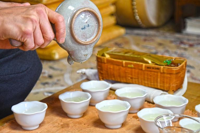 Korean Tea Ceremony | © Linda Dunsmore / Linda Goes East
