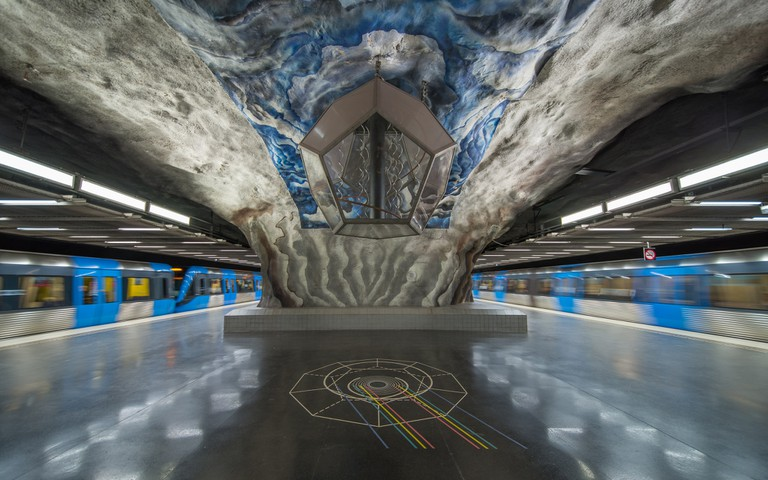 Tekniska högskolan metro station  ©Arild/Flickr