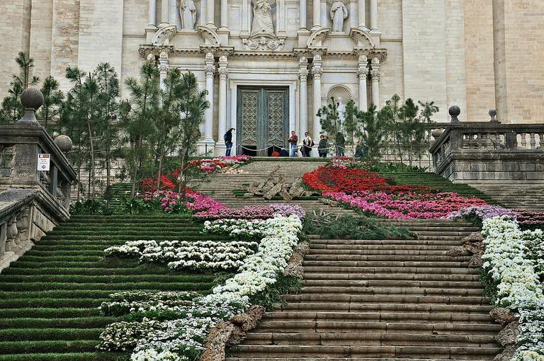Girona Flower Festival | ©Alberto-g-rovi / Wikimedia Commons