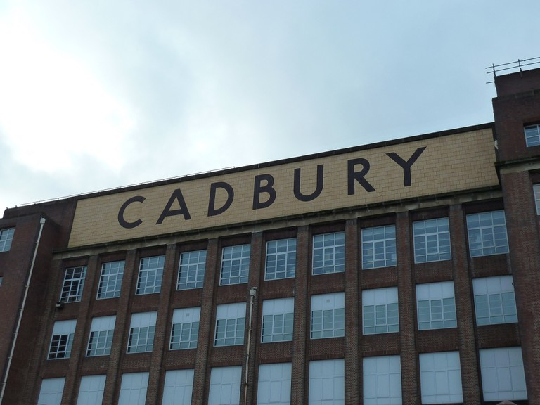 The Cadbury factory, Bournville