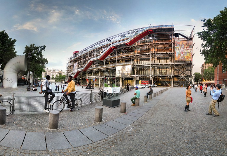The Centre Pompidou │© Panoramas / Flickr
