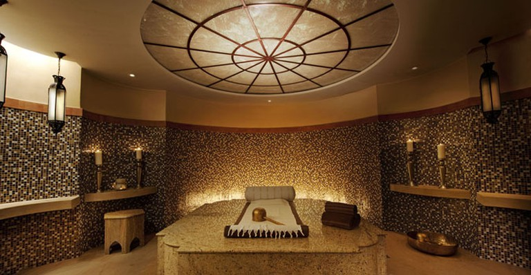 Treatment room at The Palace Spa