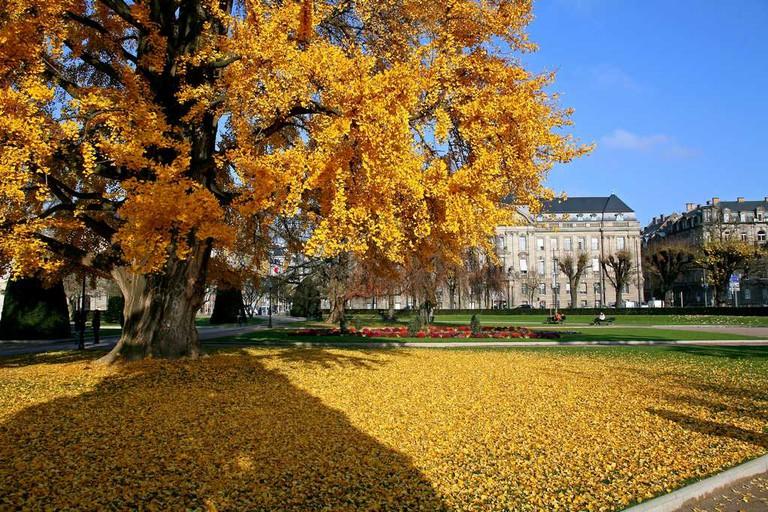 Place de la République ©Christophe Hamm / OT Strasbourg