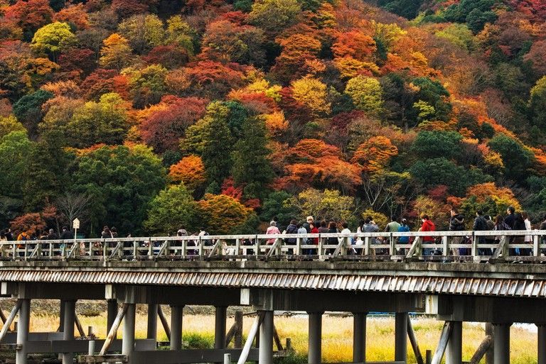 Togetsukyo means bridge to the moon |© Agustin Rafael Reyes Flickr