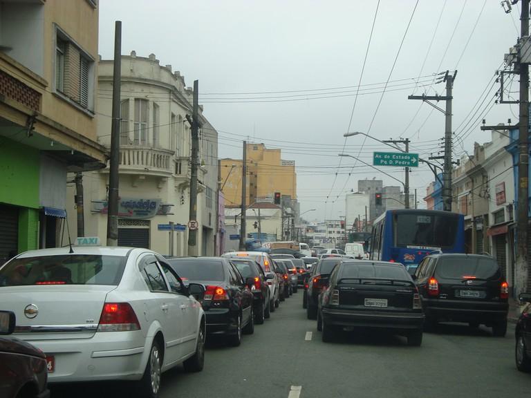 Traffic jam in Sao Paulo | © Marcos Paulo Dias/Flickr