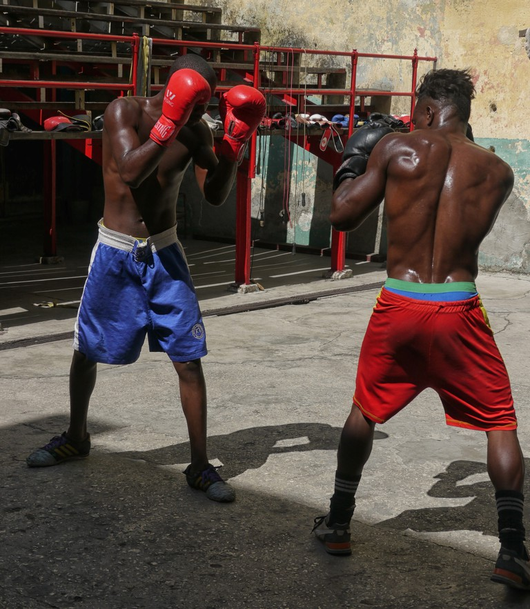Boxing at Rafael Trejo Boxing Gym | © Lynn Cianfarani