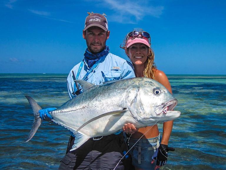 Fish caught at Alphonse Island. © Image courtesy of Alphonse Island
