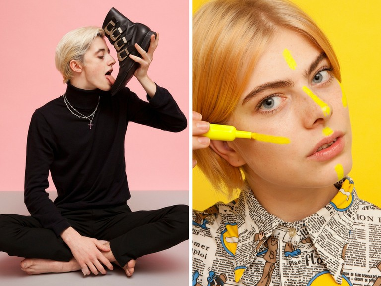 How to shine your shoe | How to highlight your face | Courtesy of Olivia Locher