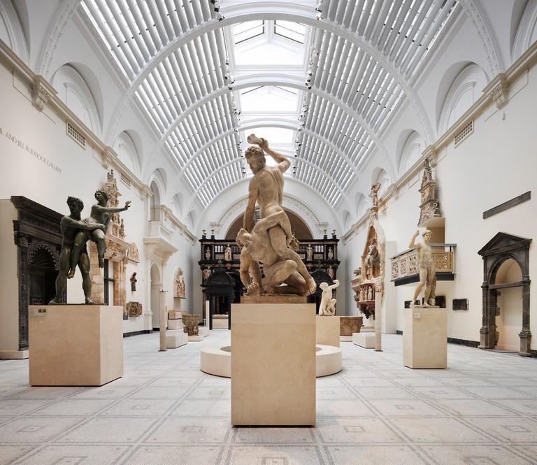 The Renaissance City 1350-1600 galleries. Courtesy V&A