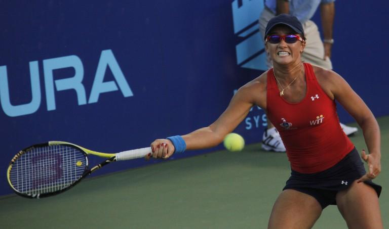 Arina Rodionova of the Washington Kastles vs. the NY Sportimes   © David/Flickr