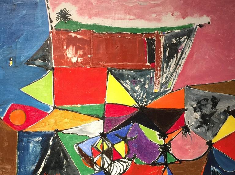 William Gear, 'Paysage', 1948 | Courtesy of Alan Wheatley Art
