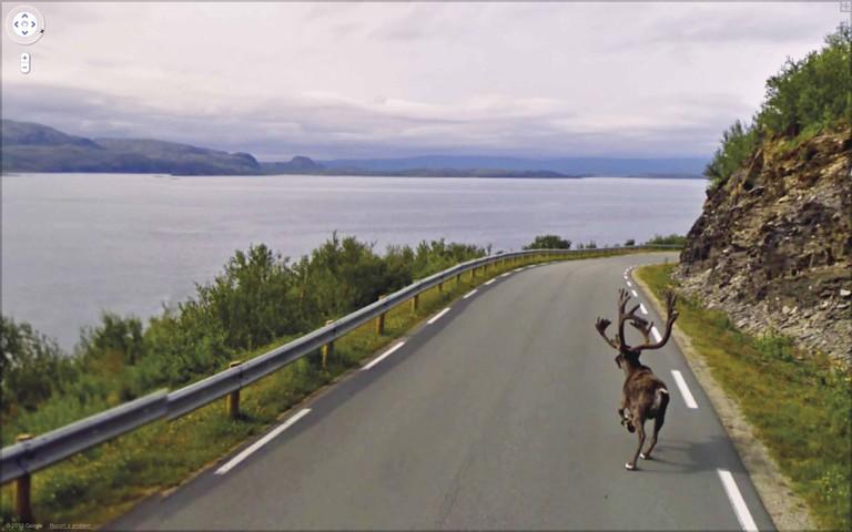 Jon Rafman. Rv888, Finnmark, Norway - Google View (2010). Estimate: $3,500-4,500 © Christie's Images Limited 2017
