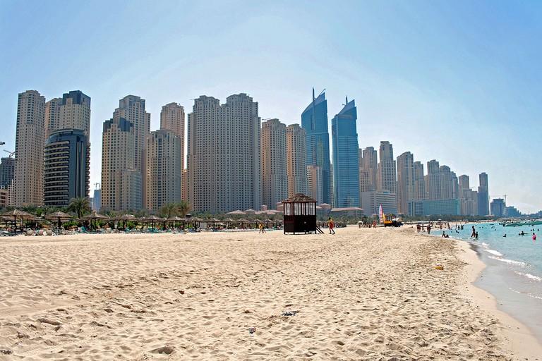 Jumeirah Beach Residence Beach | ©Pe-sa / Wikipedia