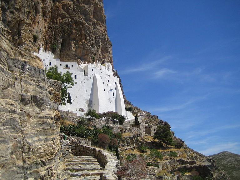 Monastery of Hozoviotissa, Amorgos | © Roland Godefroy/WikiCommons