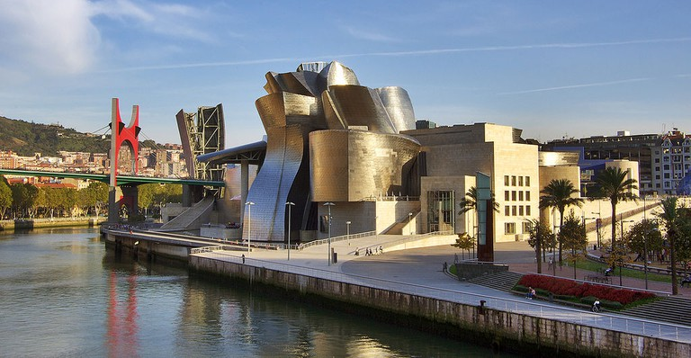 Guggenheim museum Bilbao   ©Phillip Maiwald / Wikimedia Commons