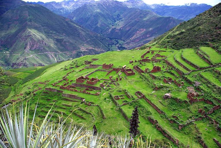 Huchuy Qosqo|©Steerage/Wikipedia
