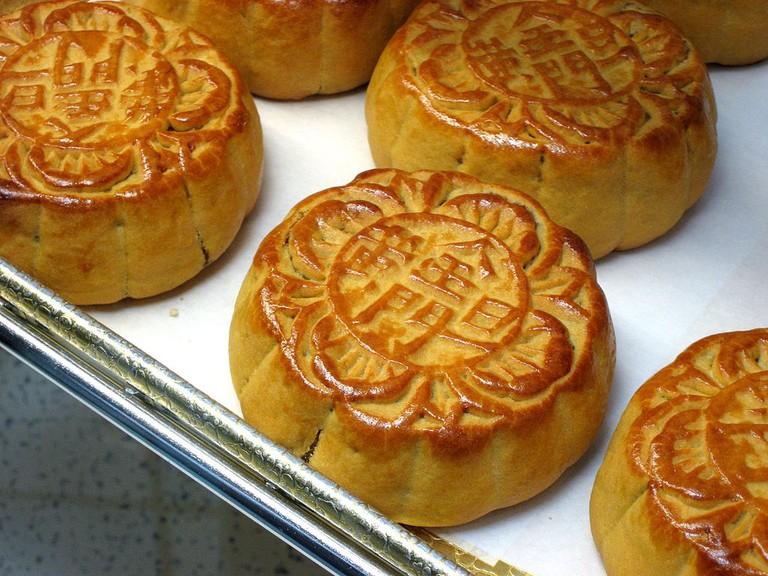 Yummu mooncakes   © misbehave /wikimedia