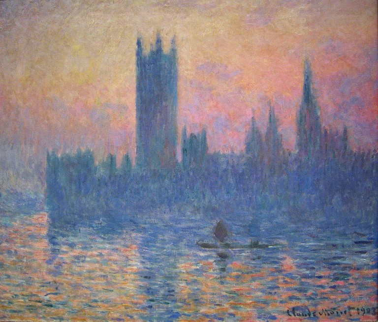 Claude Monet – The Houses of Parliament, Sunset | © Chester Dale Collection / Creative