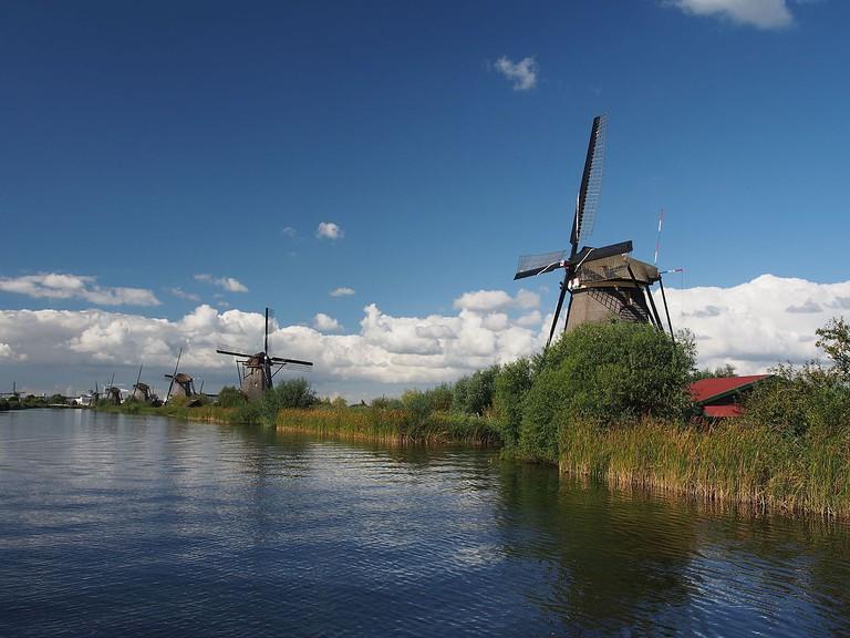 Kinderdijk | ©Alf van Beem/WikiCommons
