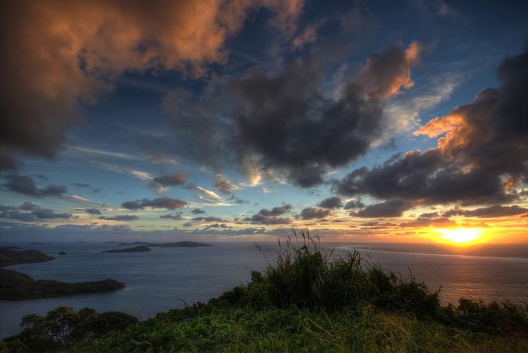 Fiji Sunset   © Björn Groß / Flickr