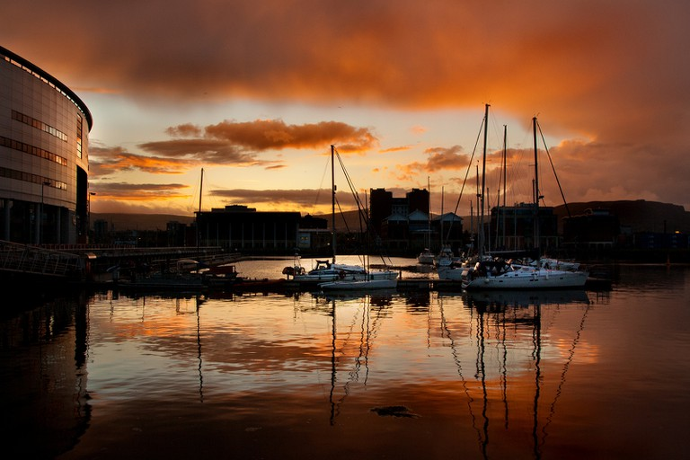 Belfast Sunset | © Tim Fields/ Flickr