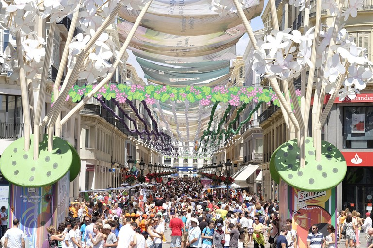 Every year, feria takes over the streets of Málaga