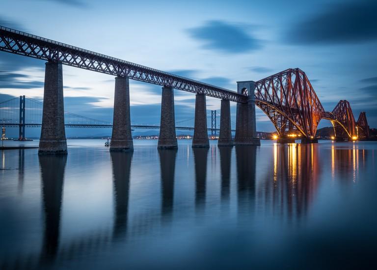 Forth Rail Bridge   © Chris Combe/Flickr