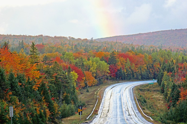 Fall along the Cabot Trail