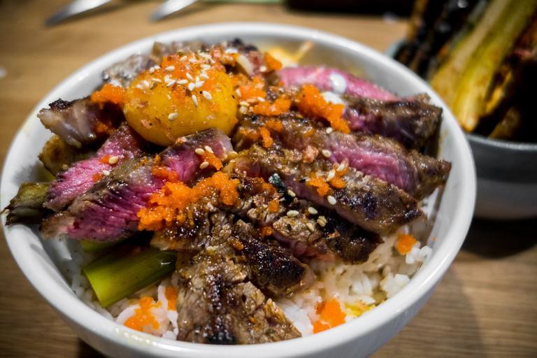 Steak Donburi | Jonathan Lin/Flickr