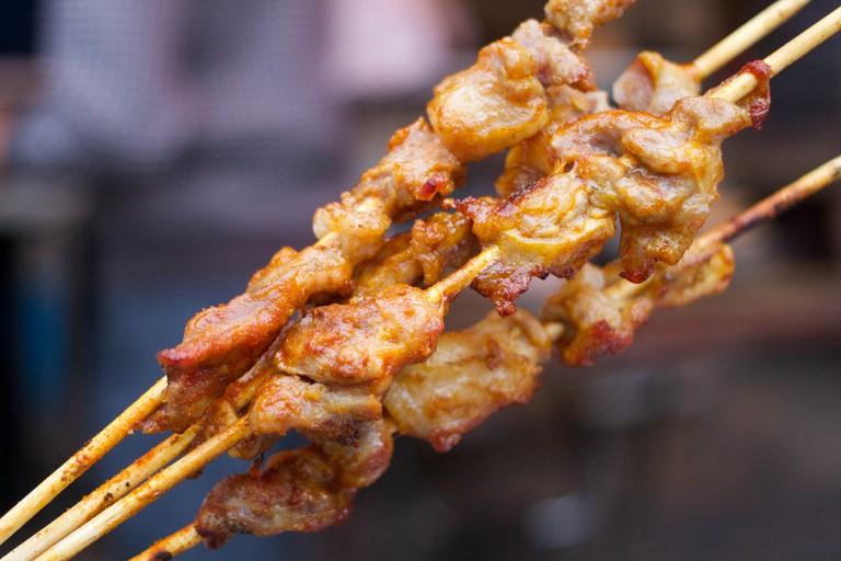 Lamb Kebabs | ©LWYang/Flickr