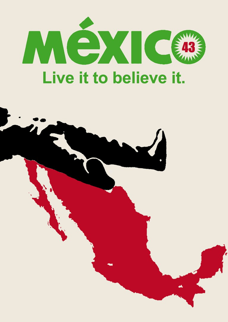 An anti-drug cartel poster | © CHRISTOPHER DOMBRES/Flickr